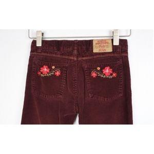 ROXY Girls Flare Corduroy Pants Jeans
